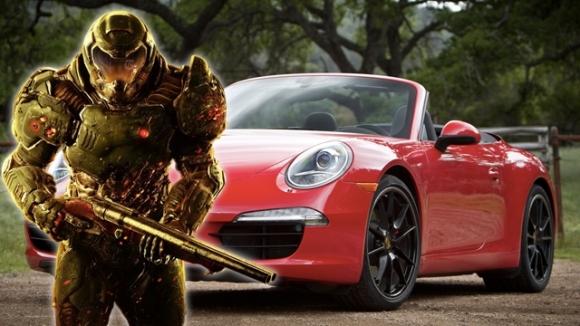 200 bin dolarlık Porsche'a oyun yüklemek!