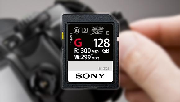 Sony, dünyanın en hızlı SD kartını duyurdu!