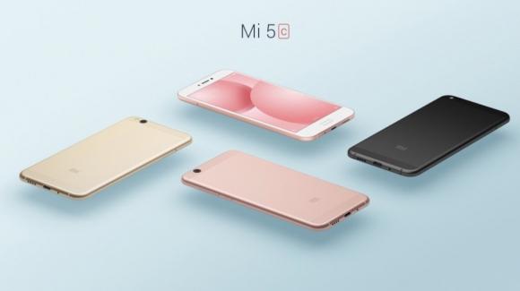 Xiaomi Mi 5c duyuruldu!