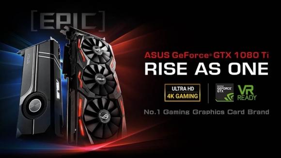 Asus ROG Strix GeForce GTX 1080 Ti gözüktü!