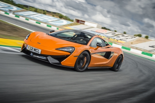 McLaren'den katlanabilir sürüş göstergesi!