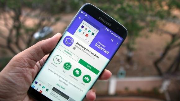 Samsung'tan internet tarayıcı uygulaması
