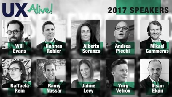 UX Alive 3-4 Mayıs'ta İstanbul'da