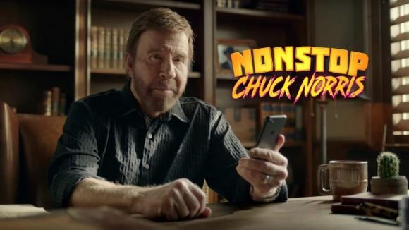 Chuck Norris dur durak bilmiyor!