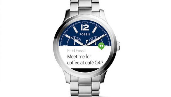 Fossil'den Android Wear 2.0 müjdesi!