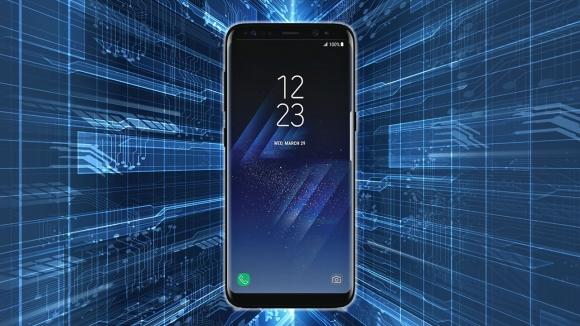 Parlak siyah Galaxy S8 görüntülendi!