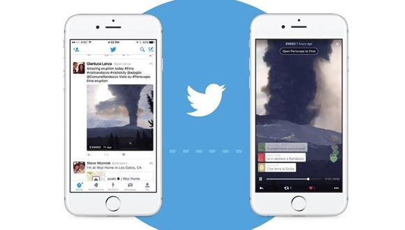Twitter canlı yayınları yenileniyor!