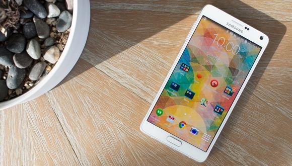 Galaxy Note 4 için yeni güncelleme!
