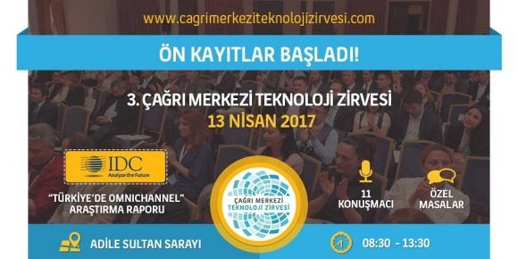 3. Çağrı Merkezi Teknoloji Zirvesi 13 Nisan'da