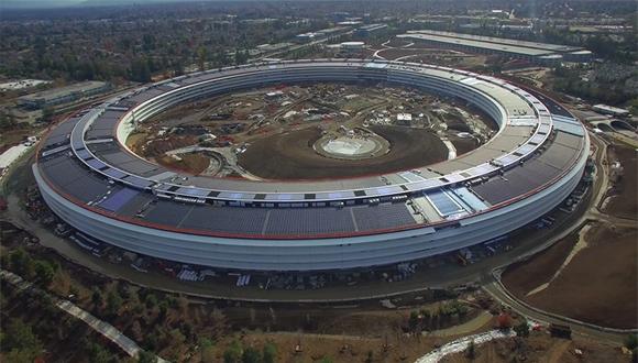 Apple Park inşaatından yeni görüntüler!