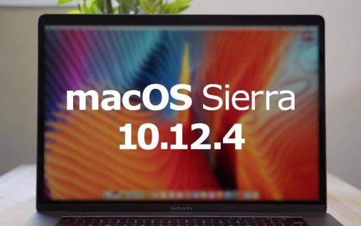 macOS Sierra 10.12.4 güncellemesi yayınladı!
