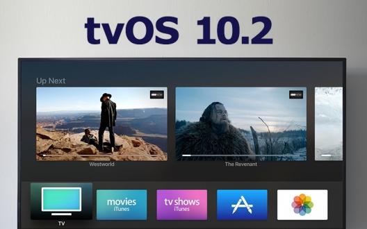 tvOS 10.2 güncellemesi yayınlandı!