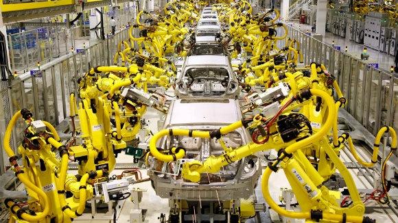 İşlerin yüzde 30'u robotlara devrediliyor