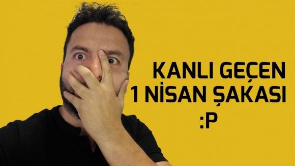 Hakkı Alkan'a 1 Nisan şakası yaptık! (VİDEO)