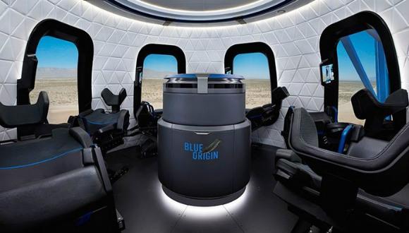 Shepard kapsülü ile uzay turizmi başlıyor