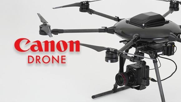 Canon'dan 20 bin dolarlık drone!