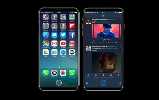 iPhone 8'de parmak izi okuyucu olacak mı?