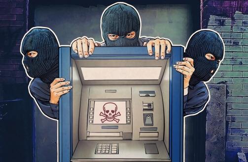 ATM'ye dokunmadan soygun yaptılar!