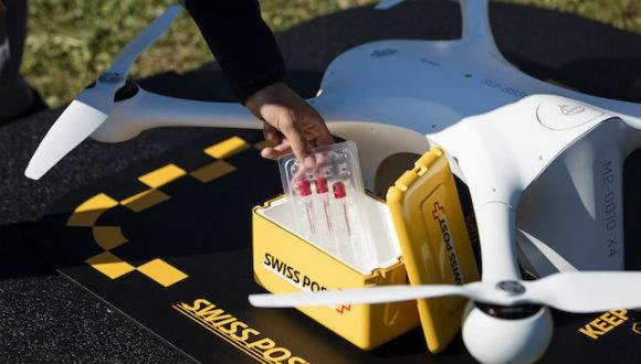 Kan numuneleri drone'lar ile taşınıyor