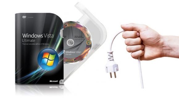 Windows Vista için yolun sonu!