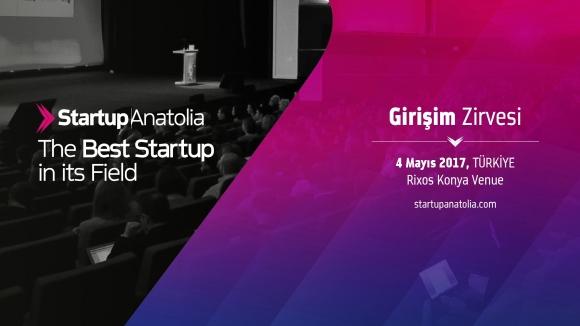 Startup Anatolia başlıyor