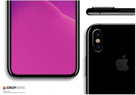 İki farklı iPhone 8 tasarımı test ediliyor!