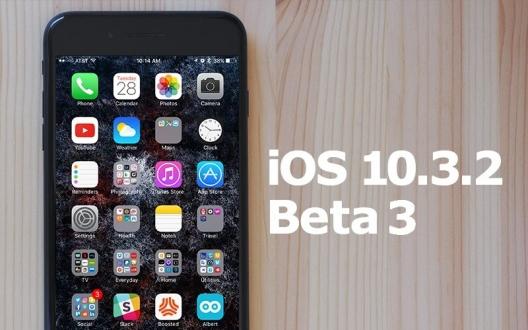 iOS 10.3.2 Beta 3 yayınlandı!