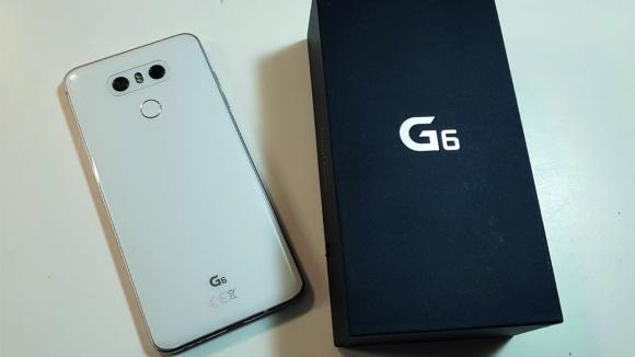 LG G6 kutusundan çıkıyor!