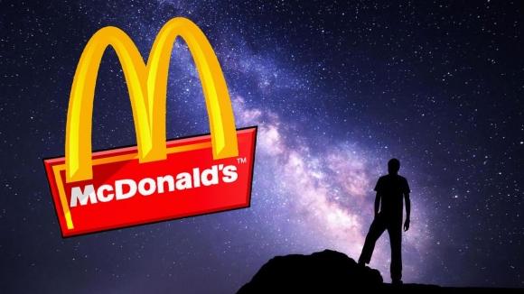 Evrenin sonunda McDonald's var!