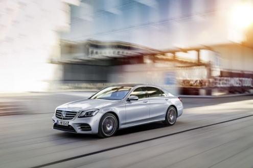 Yeni Mercedes S Class oldukça hoş görünüyor!