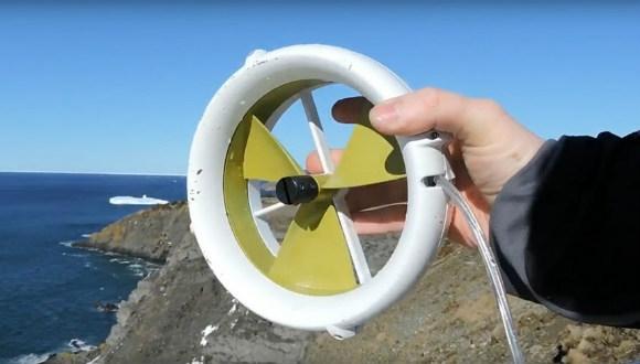 Taşınabilir türbin: Waterlily