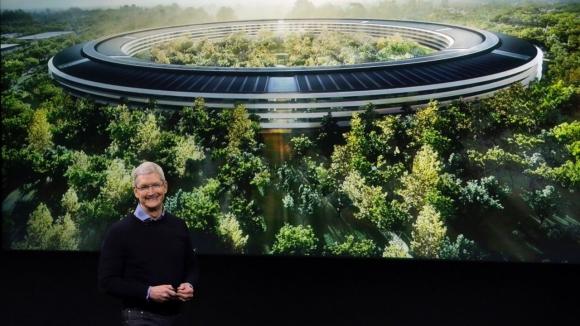 İşte en son Apple Park görüntüleri!