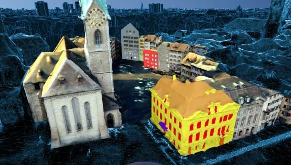 Fotoğraflarla 3D şehir görüntüsü oluşturdu!