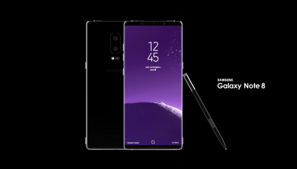 Galaxy Note 8 prototipi ortaya çıktı