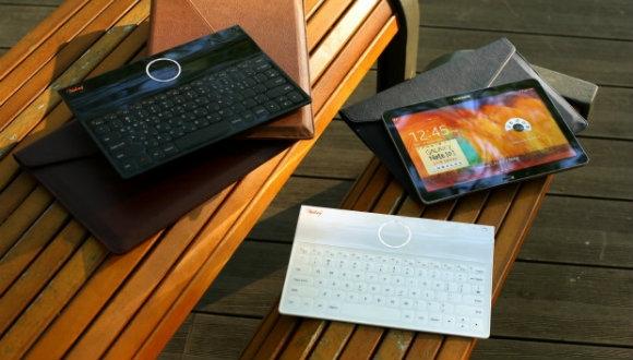 Dünyanın en ince katlanabilir klavyesi