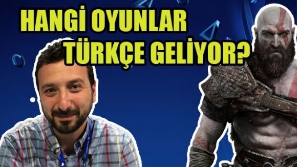 Hangi PS4 oyunları Türkçe gelecek? (VİDEO)