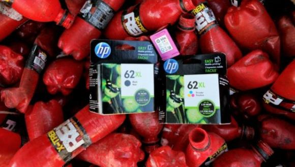 HP atıklardan kartuş yapıyor!