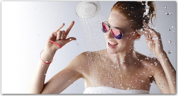 Duşta müzik keyfi yaşayın!