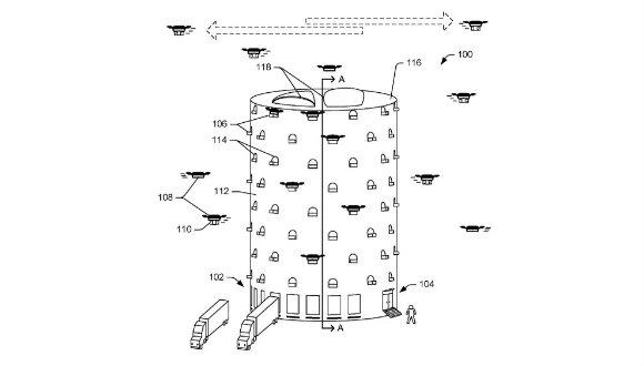 Amazon drone kulelerini duyurdu!