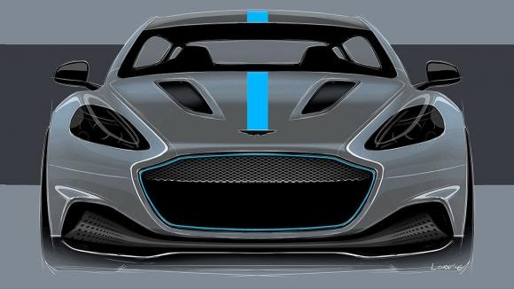 Aston Martin'den elektrikli süper otomobil!