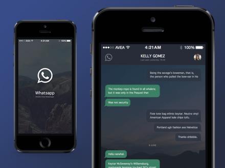 WhatsApp için Gece Modu mu geliyor?