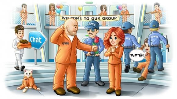 Telegram devasa gruplara destek sunuyor!