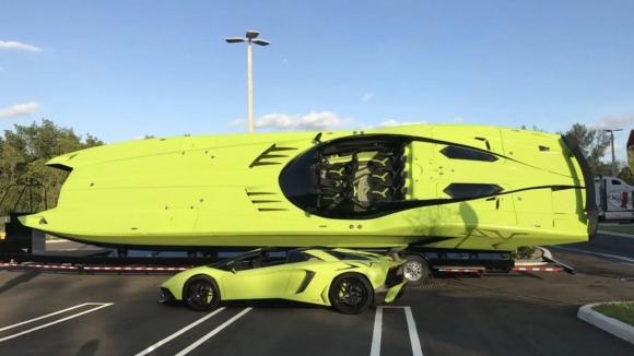 2.2 milyon dolara Lamborghini seti!