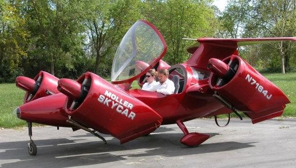 Uçan araba fiyatıyla da uçuyor!