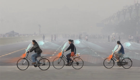 Bisikletler kirli havayı temizleyecek!