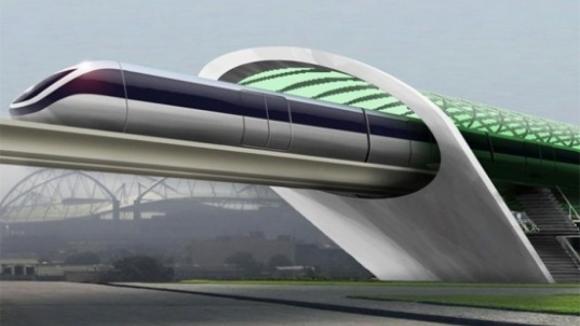 Hyperloop One, ilk testinde başarılı oldu!