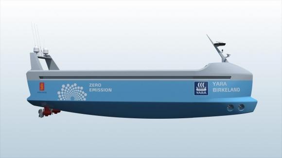Dünyanın ilk mürettebatsız gemisi!