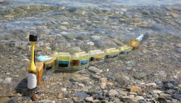 Robot yılan balığı geliştirildi!