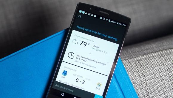 Android için Cortana güncellendi!