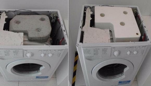 Çamaşır makinelerinde beton olmayacak!
